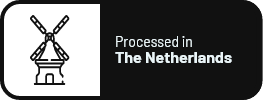 Processed in the Netherlands
